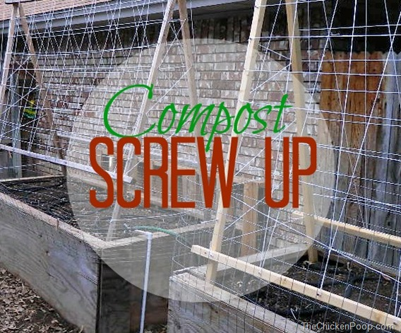 Compost Screw Up
