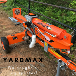 Yardmax Log Splitter